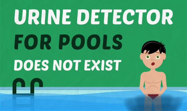 Urine Detector For Pools Does NOT Exist