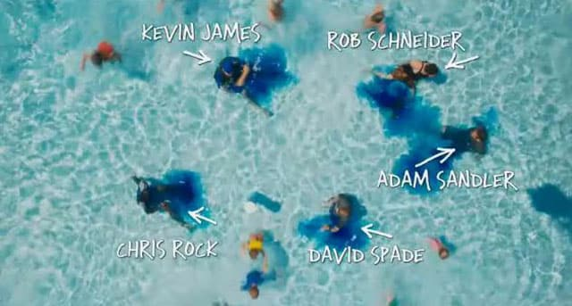 Grown Ups Pool Scene